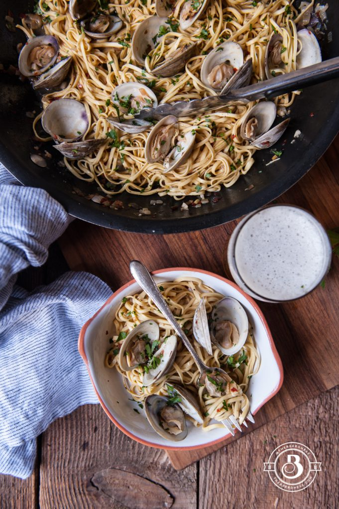 Beer Steamer Clam Linguini3