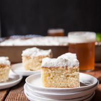 Lemon Beer Party Cake with Rum Lime Whipped Cream2