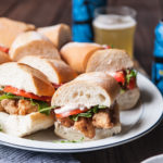 Beer Battered Cod Po' Boy Sliders