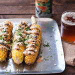 Grilled Street Corn with IPA Chipotle Cream + What's The Deal With Gluten Free Beer?