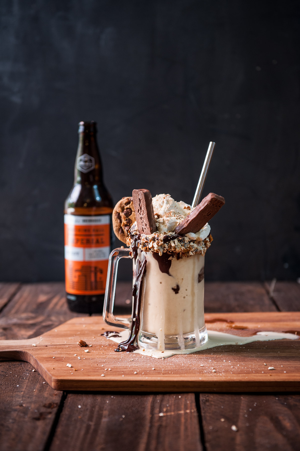 Chocolate Stout Freak Shake - The Beeroness