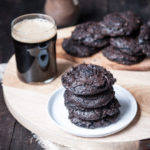 Flourless Chocolate Stout Cookies