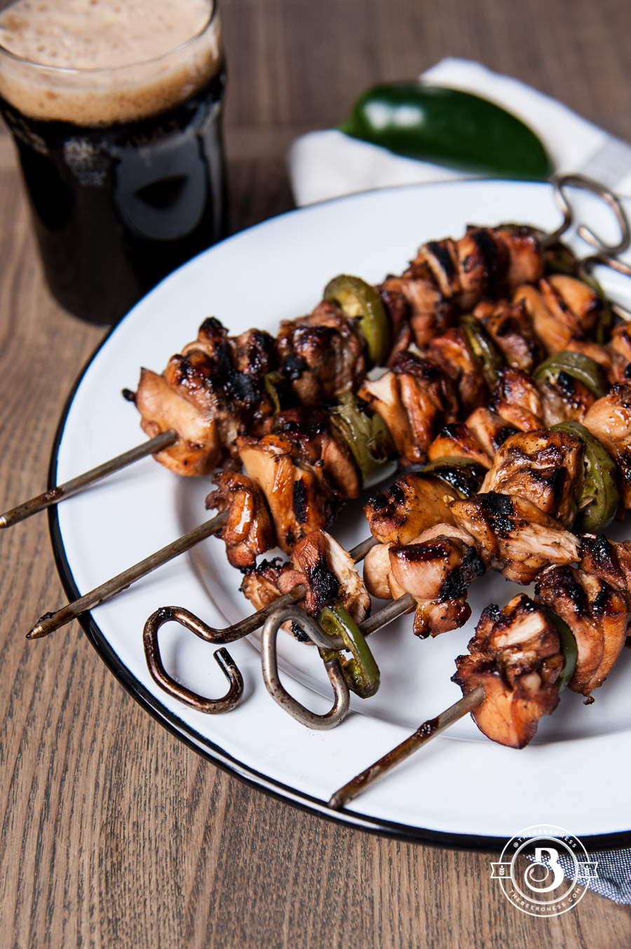 Jalapeno Honey Grilled Beer Chicken 4