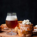 Mascarpone Winter Ale Stuffed French Toast