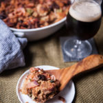 Bacon and Beer Bread Stuffing + Craft Beers to Drink on Thanksgiving