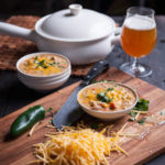 White Bean Turkey Beer Chili (for Thanksgiving leftovers)