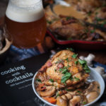 Lager-Simmered Chicken Thighs