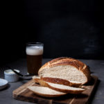 One Hour No Knead Artisan Hefeweizen Bread