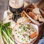 Slow Cooker Stout Caramelized Onion Dip