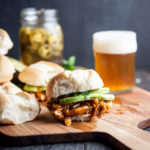 BBQ Beer Tex Mex Chicken Sliders