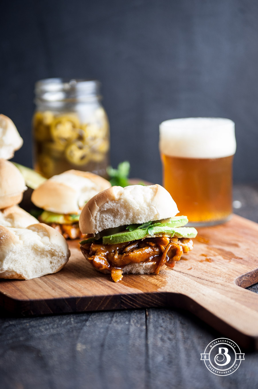 BBQ Beer Tex Mex Chicken Sliders in just 20- minutes