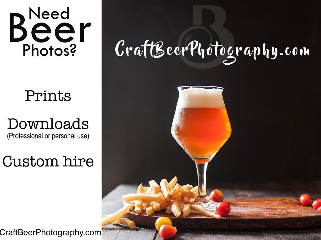 'Beer and Brown Sugar Sweet Potatoes' from the web at 'http://thebeeroness.com/wp-content/uploads/2017/06/beerphotographyad-1.jpg'