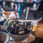 Day Two on the BC Ale Trail and Garlic Sriracha Beer Steamed Mussels