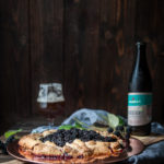 Blackberry Galette with Beer Tart Crust