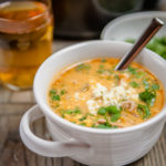 Buffalo Beer Chicken Wing Soup