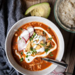 Beer Chicken Tortilla Soup