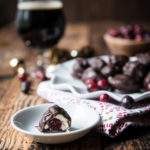 Stout Cranberry Mascarpone Chocolate Truffles