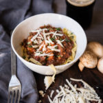 Mushroom Stout Not-Bolognese AKA Best Vegetarian Pasta Sauce Ever
