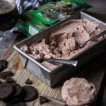 Stouts and Scouts: No Churn Thin Mint Beer Ice Cream