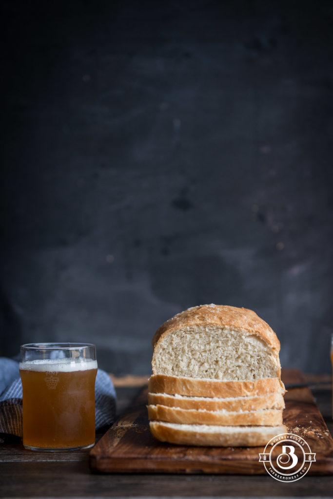 Honey Ale Sandwich Bread