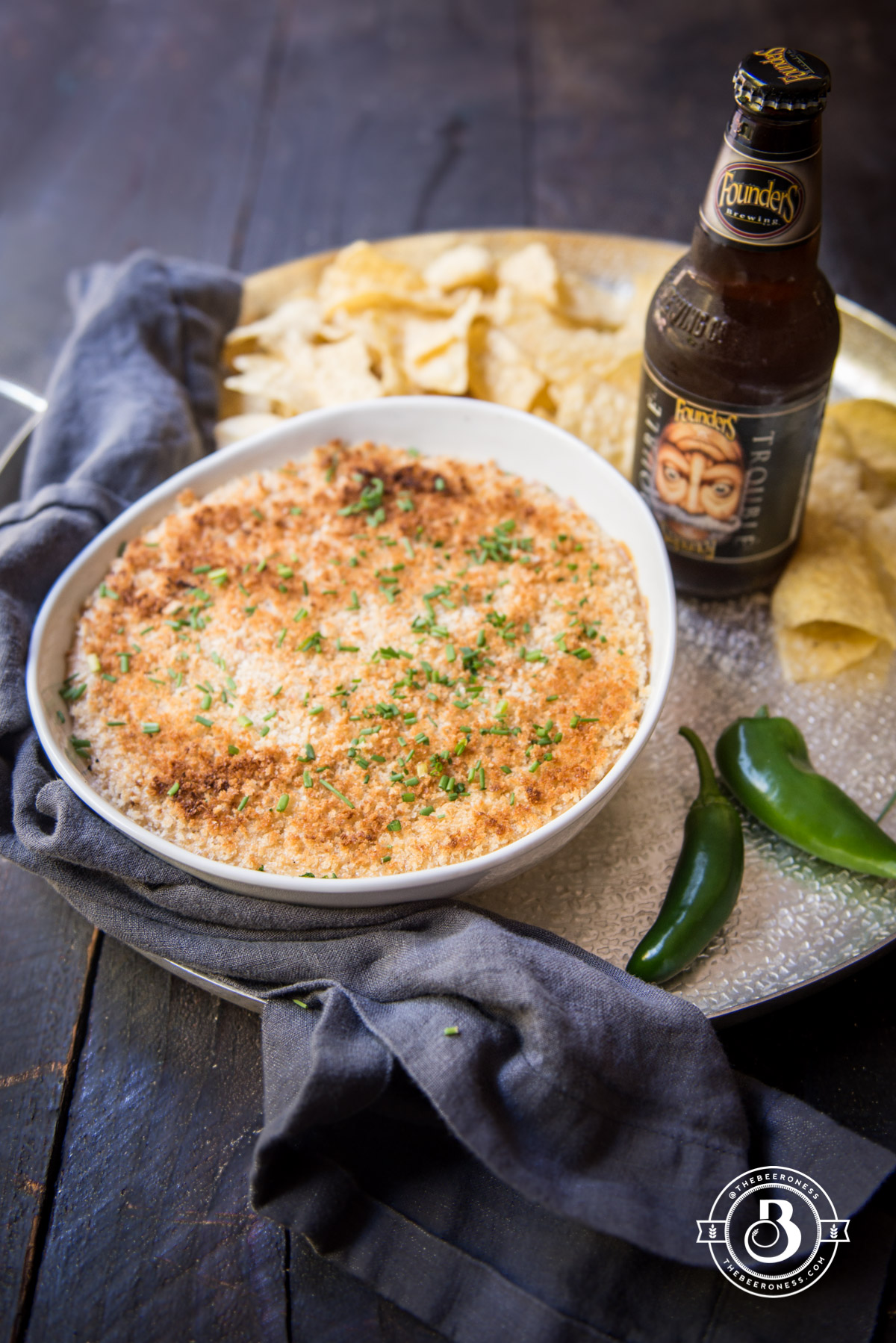 Jalapeno Popper Beer Cheese Dip