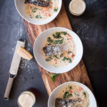Salmon in Italian Beer Cream Sauce