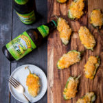 Beer Mac N Cheese Stuffed Jalapenos