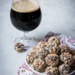Easy Chocolate Beer Pretzel Truffles