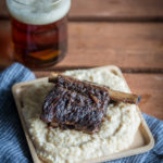 Stout Braised Short Ribs over Creamy Pale Ale Polenta