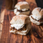 Stout Osso Buco Sliders with Gremolata Sour Cream