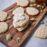 Hop Shortbread Beer Cookies