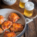 Sheet Pan Sweet Chili Glazed Beer Chicken