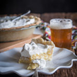 Coconut Pilsner Mango Cream Pie