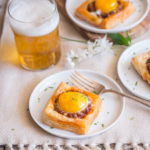 Mini Chorizo Stout Breakfast Tarts (with vegetarian option)