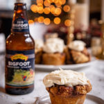 Beer Bread Cinnamon Roll Muffins