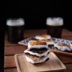 Stout S'mores & Pretzel Fudge