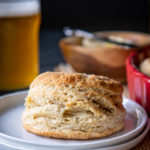 Sourdough Beer Biscuits