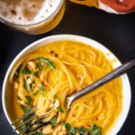 Thai Butternut Squash and Beer Soup