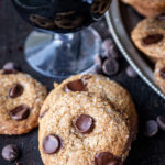 Bourbon Beer and Brown Sugar Chocolate Chip Cookies