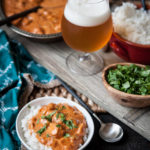 Indian Beer and Butter Chicken