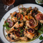 Blood Orange Beer Roast Chicken