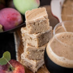 Salted Caramel Stout Apple Bars