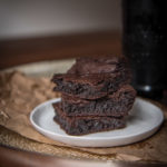 Ridiculously Good Stout Vegan Brownies (with no weird ingredients)