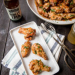 General Tso Sticky Beer Chicken Wings