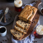 One Bowl Chocolate Chip Beer and Peanut Butter Bread