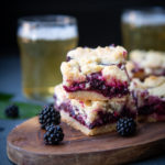 Beer and Berry Cobbler Bars